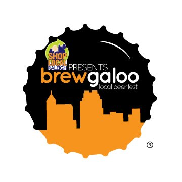 Time, date and location of Brewgaloo 2015 with Brewgaloo bottlecap logo.