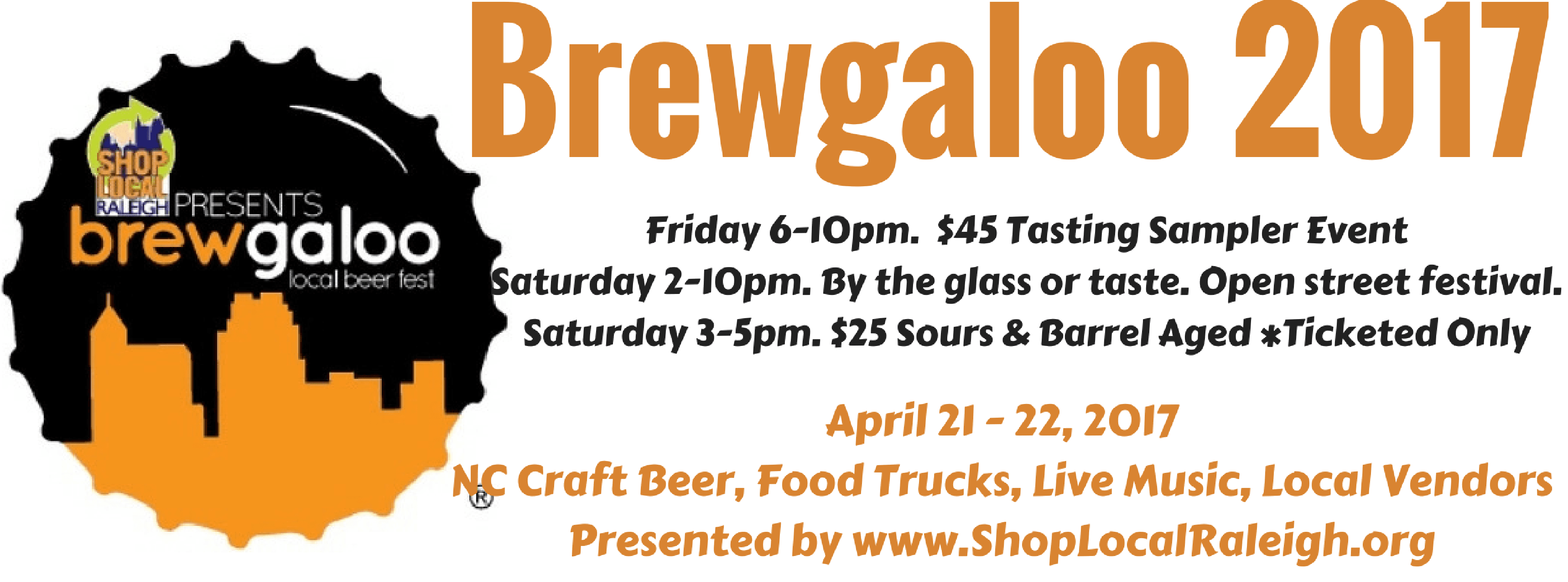 Brewgaloo 2017 shop local raleigh for Craft shows in nc 2017