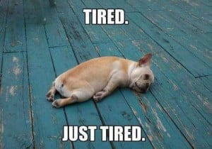 The End of Weekends As I Know Them