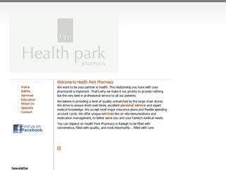healthparkpharmacy.com