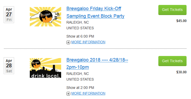 Brewgaloo Tickets