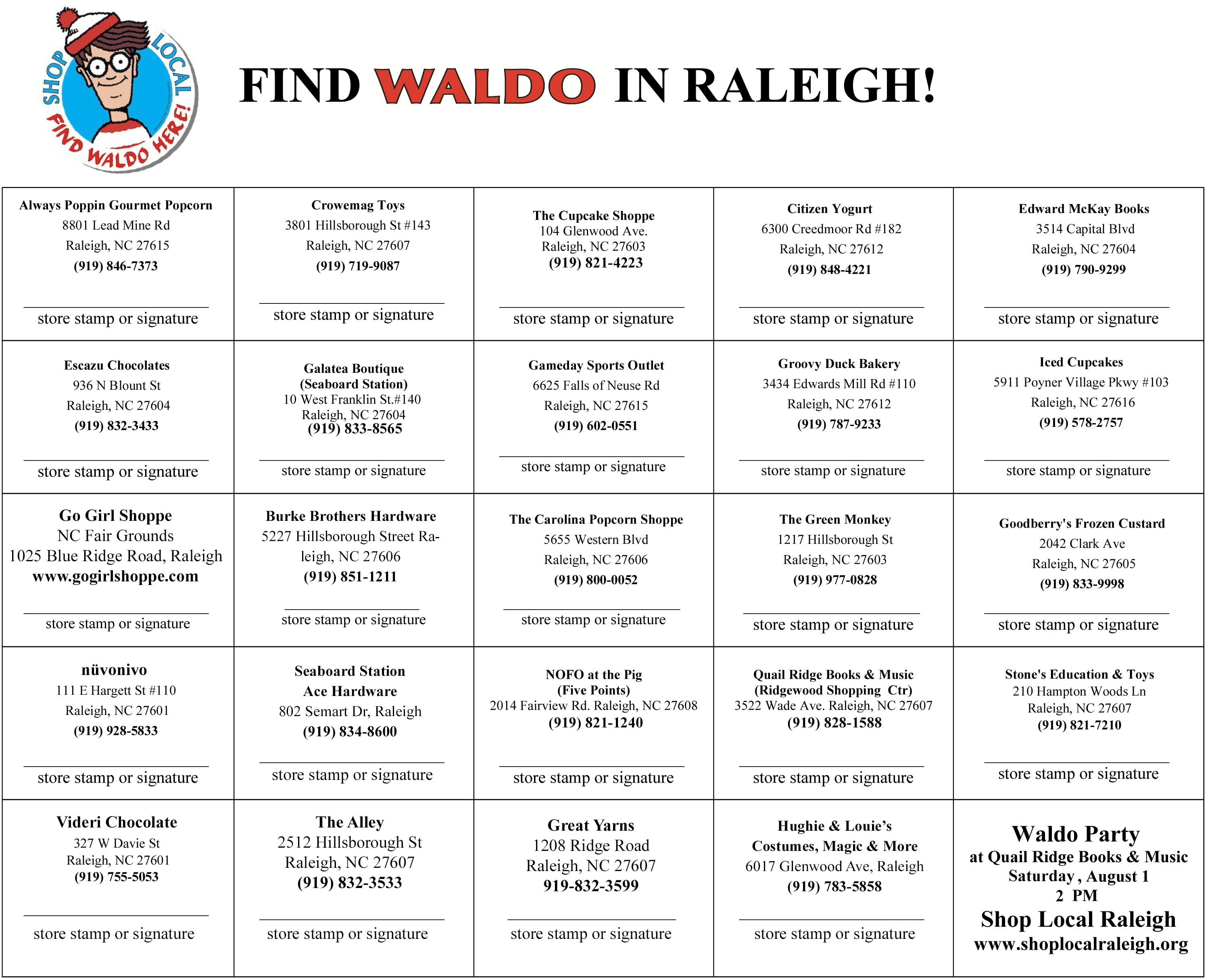 How To Get A Passport Raleigh Nc By Isaac Alfasi Xbpmxnuj9s Where's Waldo  Raleigh