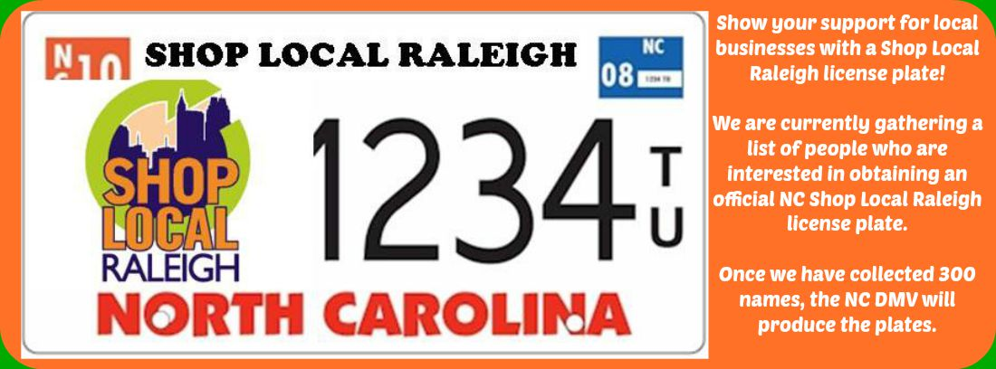 shoplocalraleigh-nc-license-plate