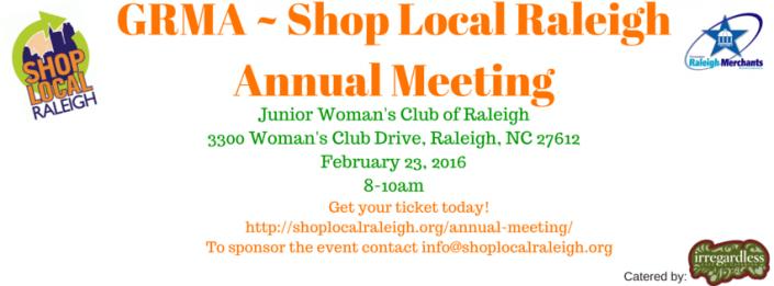 Shop Local Raleigh Annual Meeting