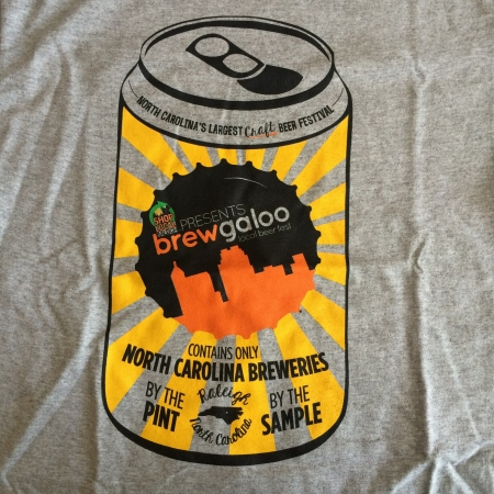 Brewgaloo 2016 tee