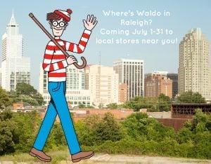 Where's Waldo Raleigh
