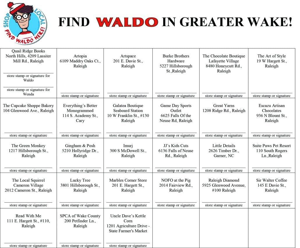 Where's Waldo Passport 2017