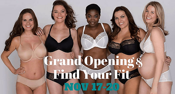 Lingerie Party & Find Your Fit Event