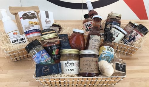 Raleigh Provisions Gift Basket