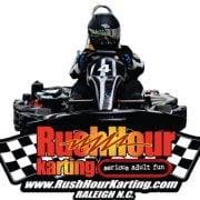 Rush Hour Karting Logo