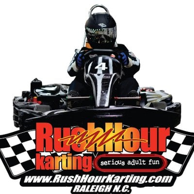 Rush Hour Karting Logo