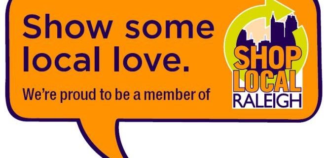Shop Local Raleigh Proud Member