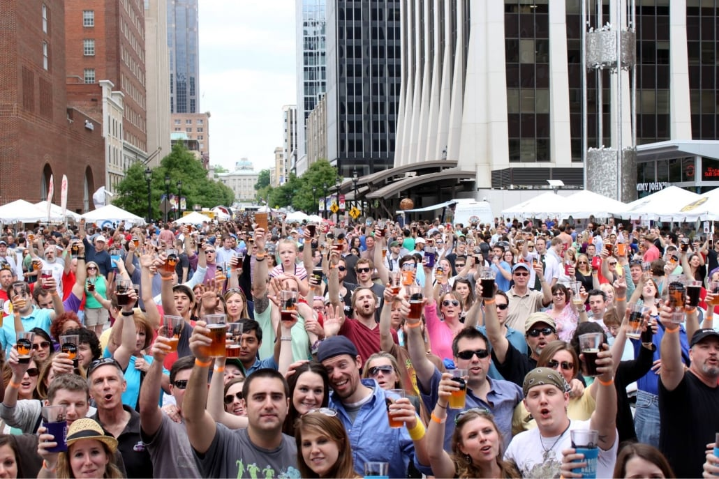 USA Today, 10Best names Brewgaloo®, presented by Shop Local Raleigh (SLR) as the best beer festival 2019!