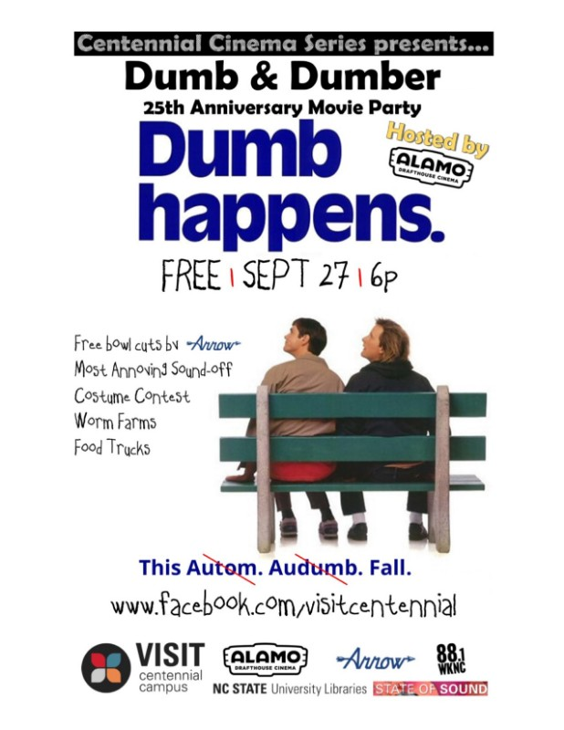 Dumb & Dumber 25th Anniversary Movie Party - Shop Local Raleigh