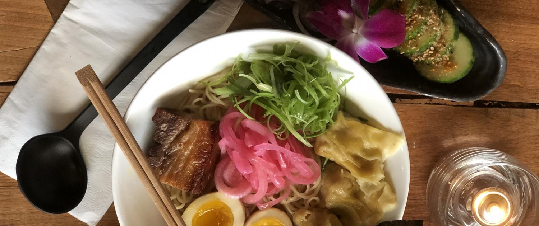 Downtown Raleigh Restaurant Week - Tonbo Ramen