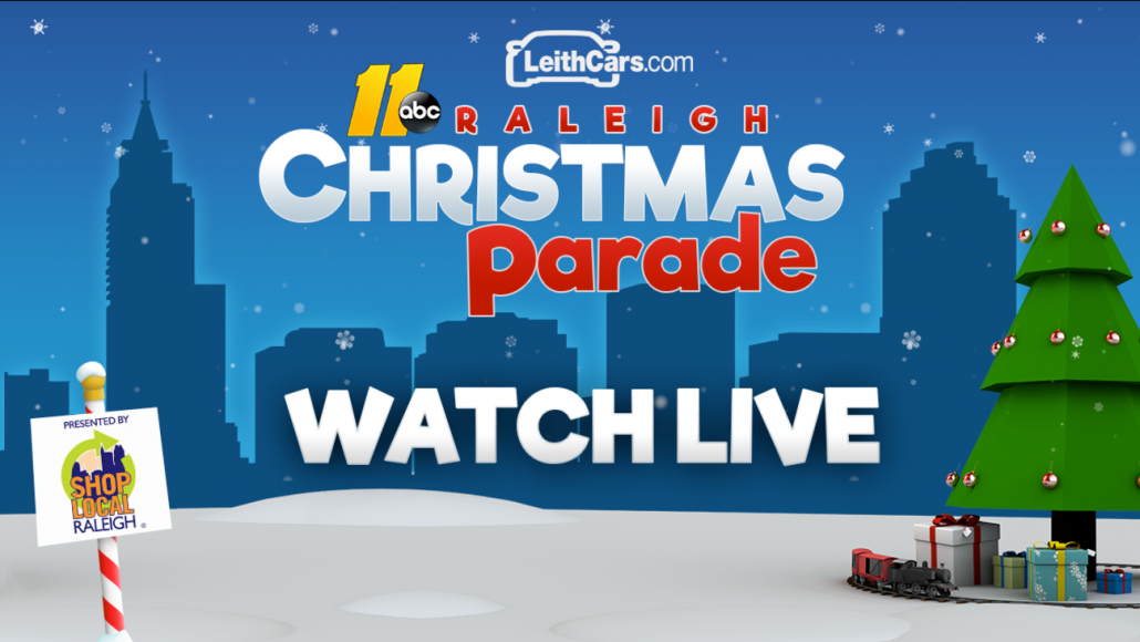 Where to watch the Raleigh Christmas Parade