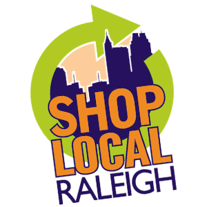 Shop Local Raleigh logo - find local business