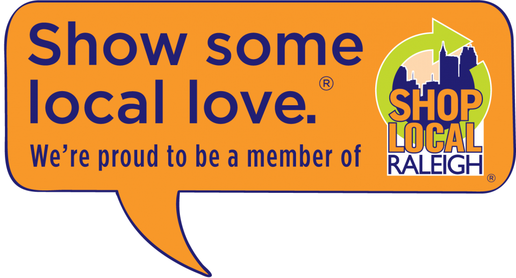 Show Some Local Love Proud to be a member SLR window sticker