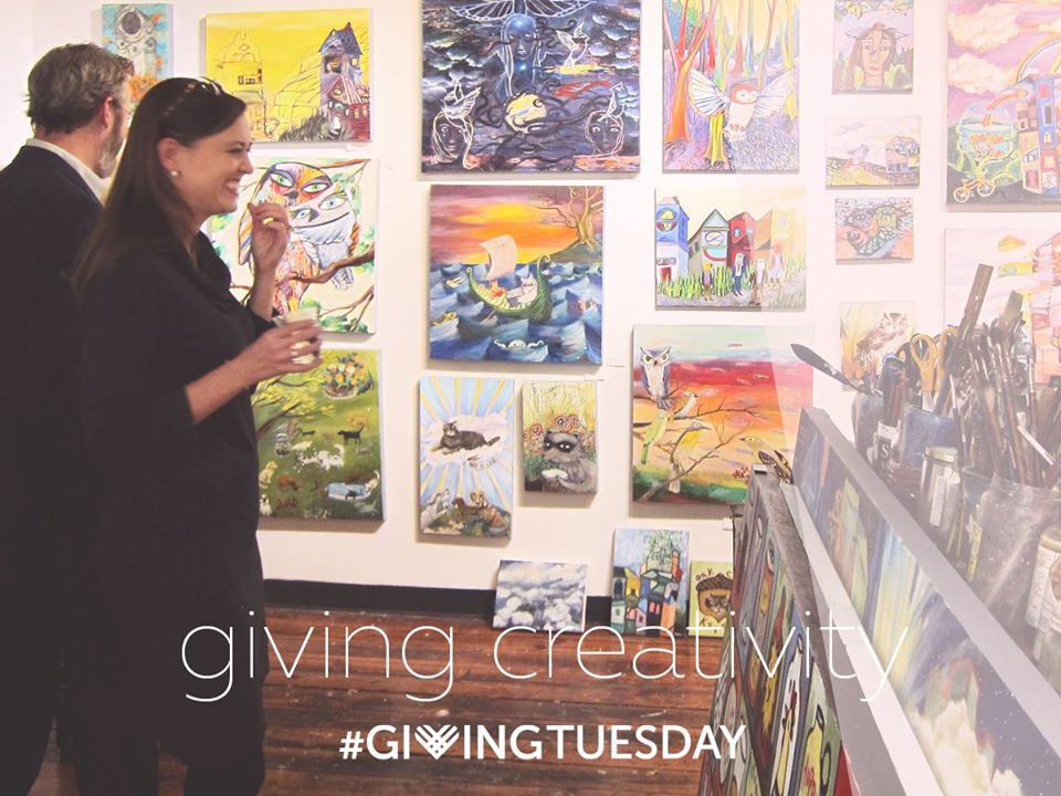 Artspace - Giving Tuesday