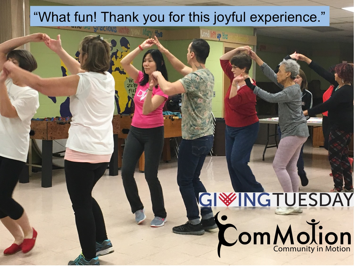 ComMotion - Giving Tuesday