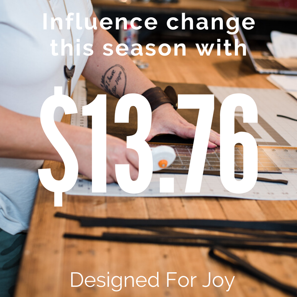 Designed For Joy - Giving Tuesday
