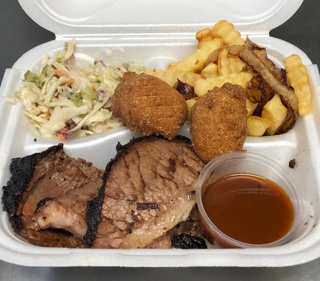 Brisket and 2 sides plate