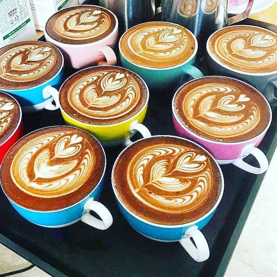 Coffee WoRx Latte Art