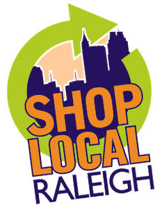 shop local raleigh logo