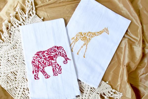 VB Elephant and Giraffe Styled2a