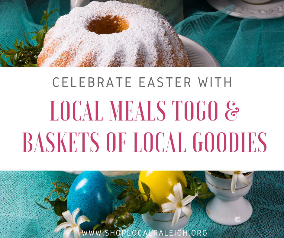 local easter meals togo & baskets
