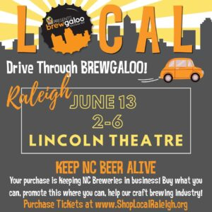 Drive Through Brewgaloo Downtown Raleigh