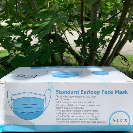 Box of Disposable Face Mask