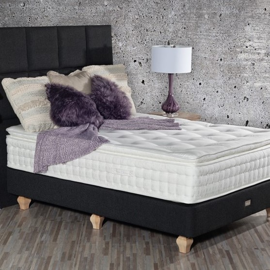 Organic Bedroom Hypnos Camelia Pillowtop Mattress sq1