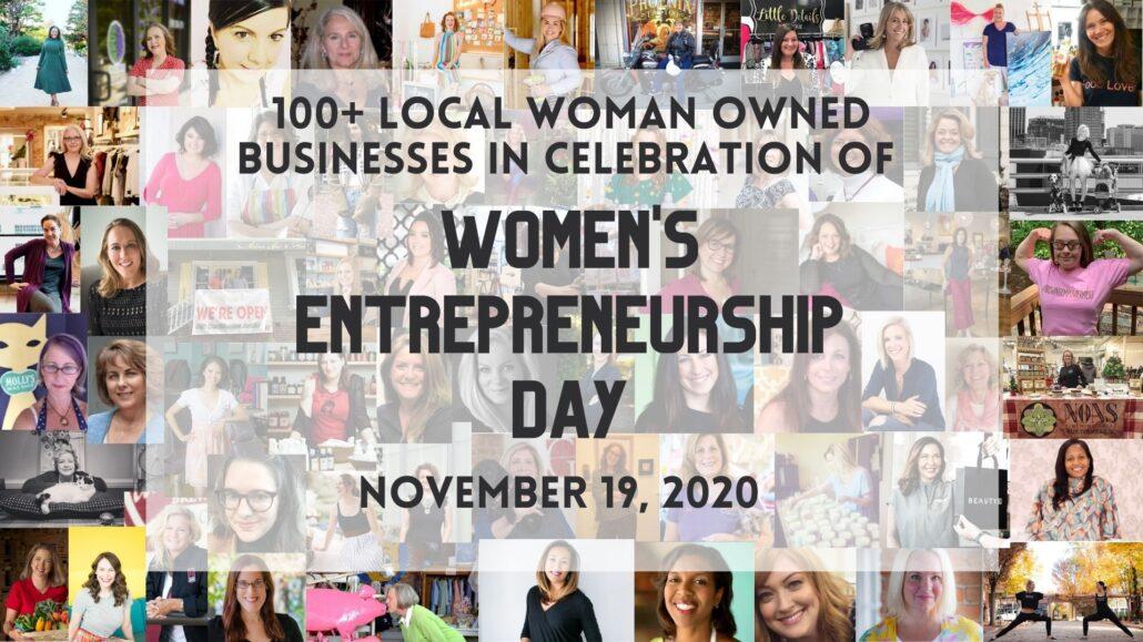 100+ Local Women Owned Businesses to Celebrate Women's Entrepreneurship Day