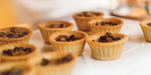 Rocky Top Catering Thanksgiving Meals - mini pecan pies