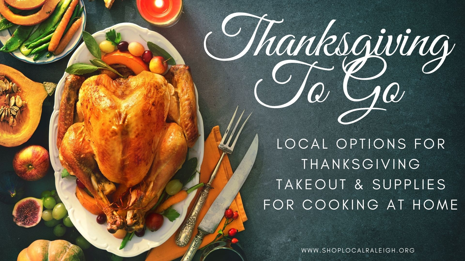 Thanksigiving togo in Raleigh Blog Post Cover