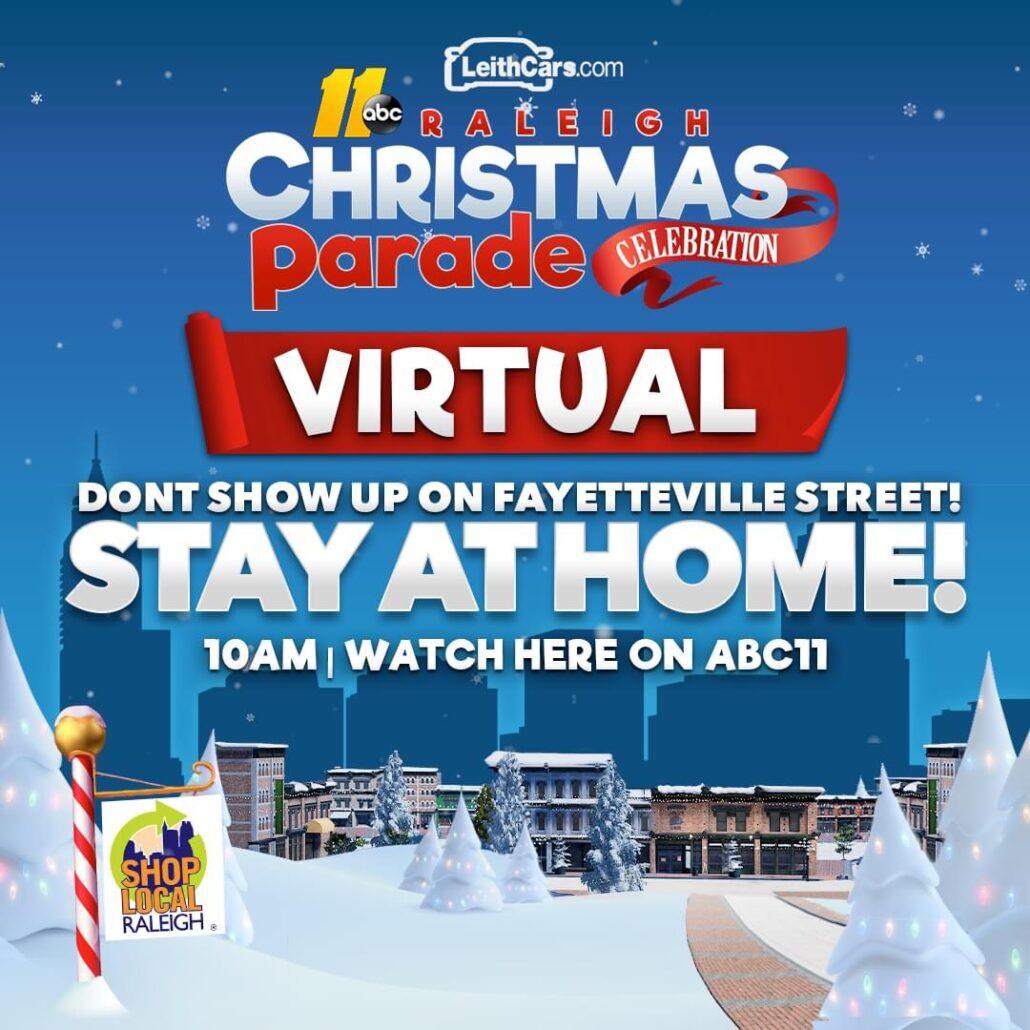 2020 Raleigh Christmas Parade goes VIRTUAL