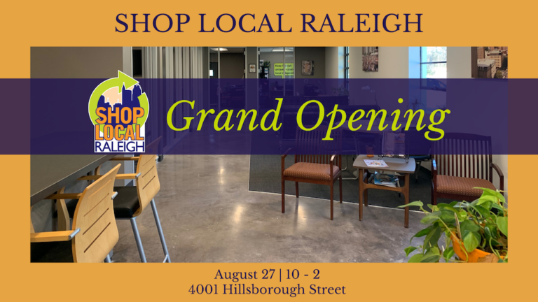 Shop Local Raleigh Grand Opening website 768x432