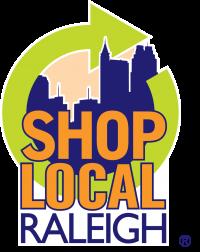 SLR Shop Local Raleigh Logo